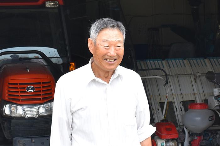 本物の「コシヒカリ」を生産する米農家の石田さん