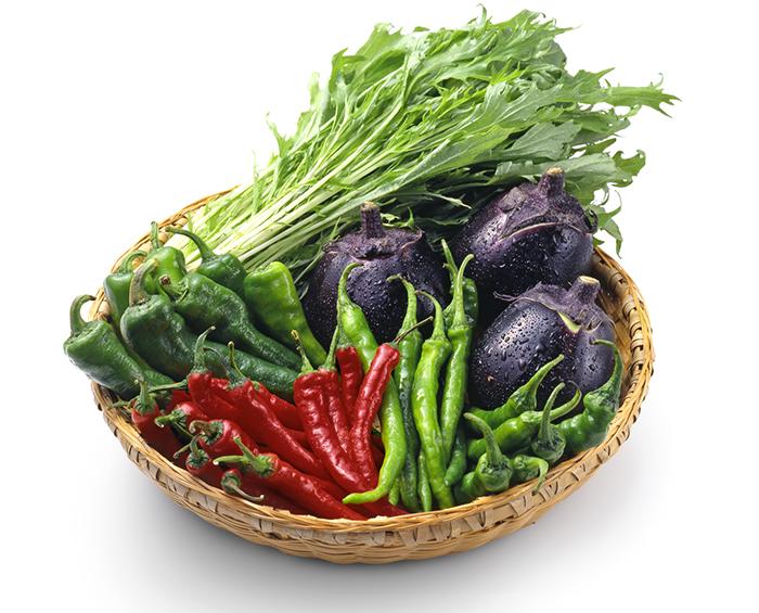 瑞々しい京野菜