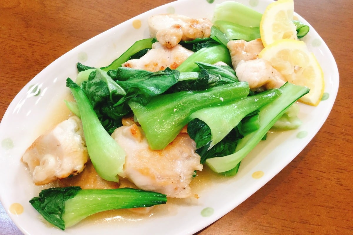 中華 レシピ チンゲン 菜